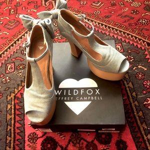 Wildfox x Jeffrey Campbell Dallas platforms